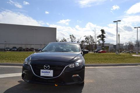 2015 Mazda MAZDA3 for sale at Automax of Chantilly in Chantilly VA
