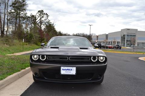 2016 Dodge Challenger for sale at Automax of Chantilly in Chantilly VA