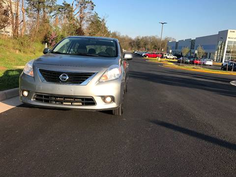 2012 Nissan Versa for sale at Automax of Chantilly in Chantilly VA
