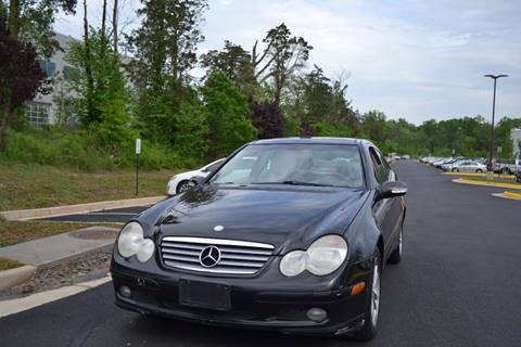 2002 Mercedes-Benz C-Class for sale at Automax of Chantilly in Chantilly VA