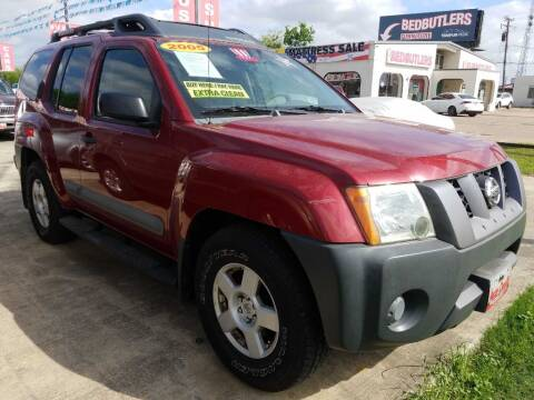2005 Nissan Xterra Off-Road for sale at AUTO CREDIT in Victoria TX