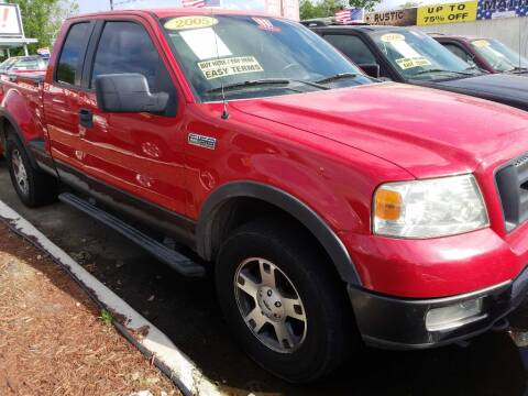 2005 Ford F-150 for sale at AUTO CREDIT in Victoria TX