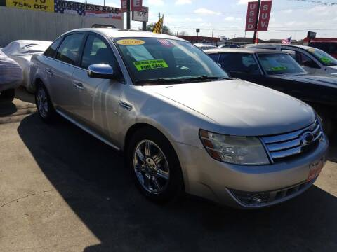 2008 Ford Taurus Limited for sale at AUTO CREDIT in Victoria TX