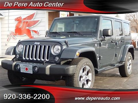 2018 Jeep Wrangler Unlimited for sale in De Pere, WI