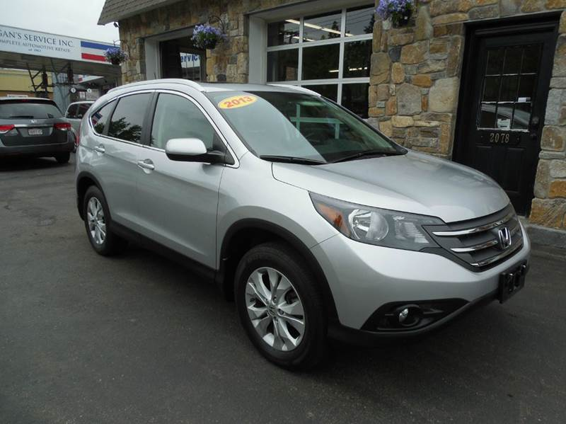 2013 Honda CR-V for sale at Regans Automotive Inc in Auburndale MA