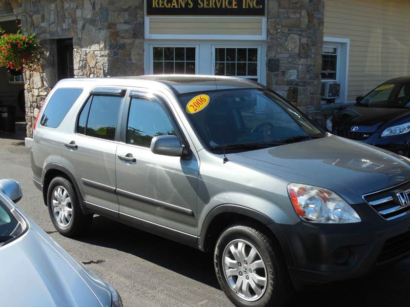 2006 Honda CR-V for sale at Regans Automotive Inc in Auburndale MA