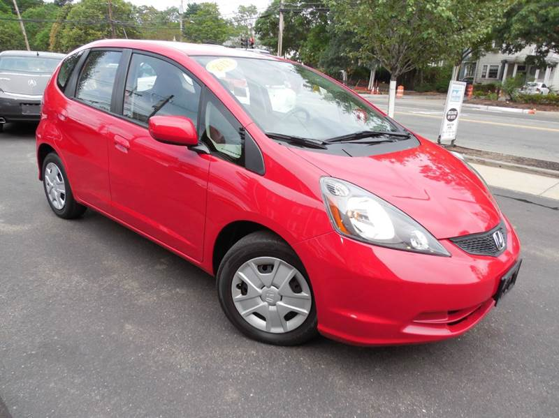 2013 Honda Fit for sale at Regans Automotive Inc in Auburndale MA