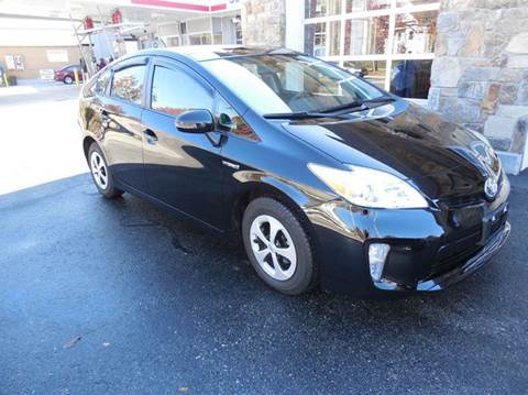 2013 Toyota Prius for sale at Regans Automotive Inc in Auburndale MA