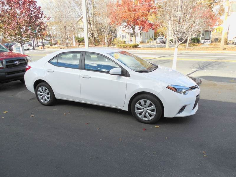 2015 Toyota Corolla for sale at Regans Automotive Inc in Auburndale MA