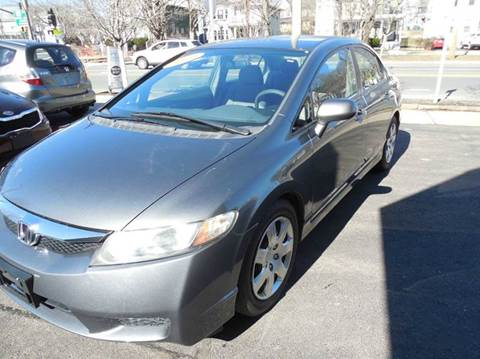 2010 Honda Civic for sale at Regans Automotive Inc in Auburndale MA