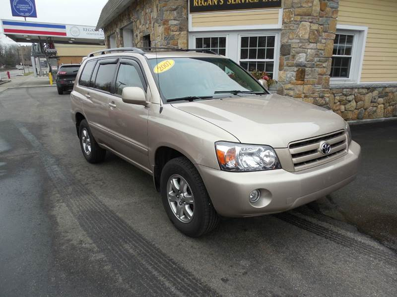2007 Toyota Highlander for sale at Regans Automotive Inc in Auburndale MA