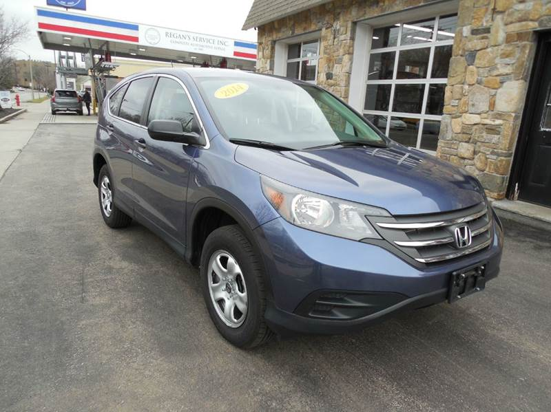 2014 Honda CR-V for sale at Regans Automotive Inc in Auburndale MA