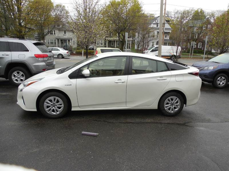 2016 Toyota Prius for sale at Regans Automotive Inc in Auburndale MA