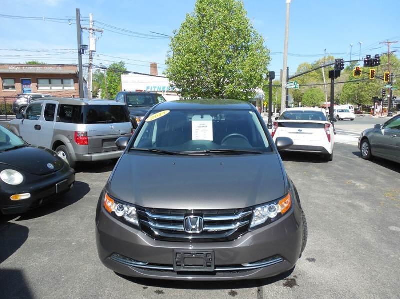 2014 Honda Odyssey for sale at Regans Automotive Inc in Auburndale MA