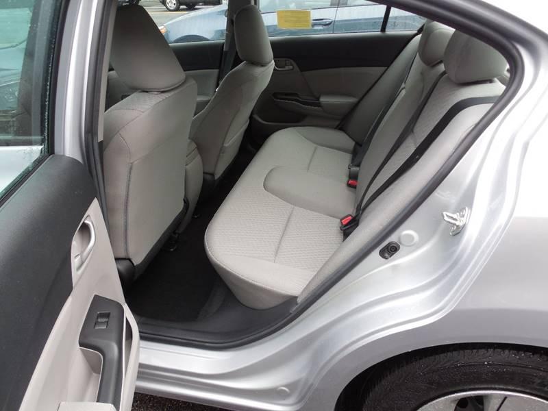2014 Honda Civic LX 4dr Sedan CVT - Auburndale MA
