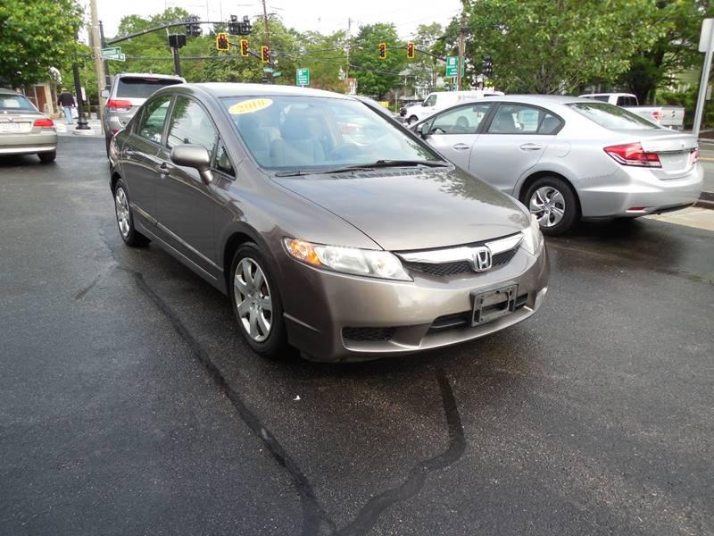 2010 Honda Civic LX 4dr Sedan 5A - Auburndale MA