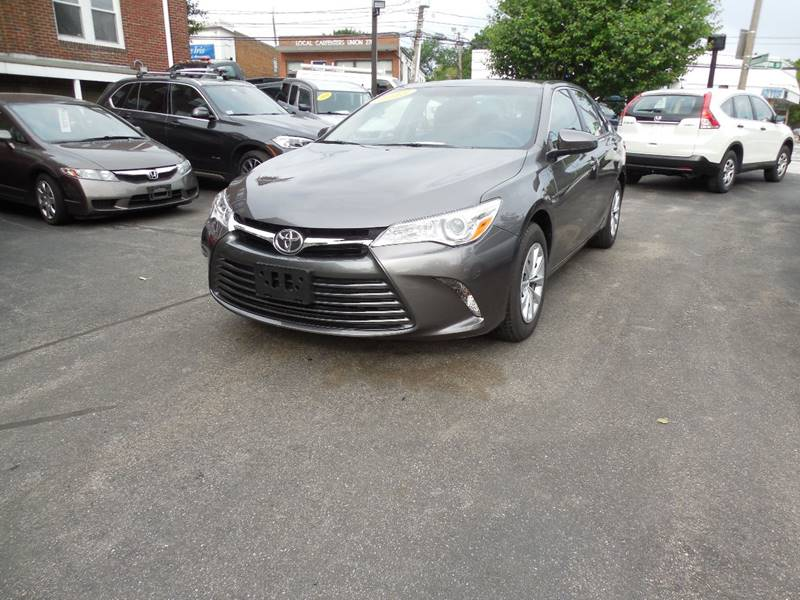 2015 Toyota Camry for sale at Regans Automotive Inc in Auburndale MA