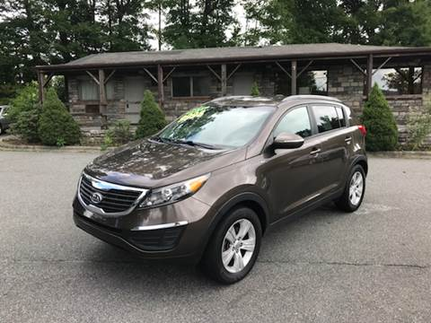 2011 Kia Sportage for sale at Highland Auto Sales in Boone NC