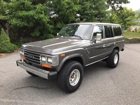 1988 Toyota Land Cruiser for sale at Highland Auto Sales in Boone NC