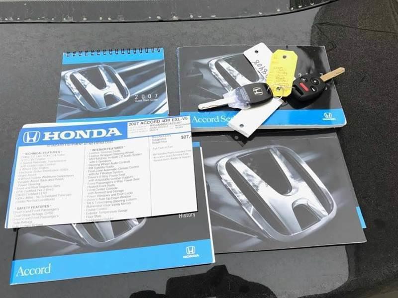 2007 Honda Accord EX-L V-6 4dr Sedan (3L V6 5A) - Kansas City KS