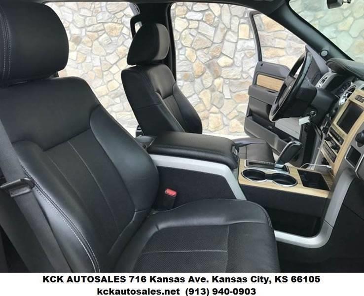 2011 Ford F-150 4x4 Lariat 4dr SuperCrew Styleside 6.5 ft. SB - Kansas City KS