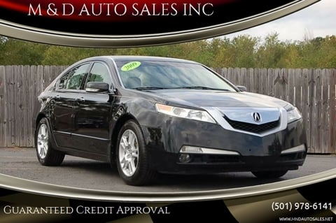 2009 Acura TL for sale in Little Rock, AR