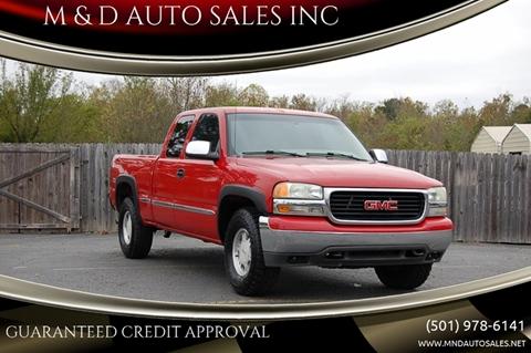 2002 GMC Sierra 1500 for sale in Little Rock, AR