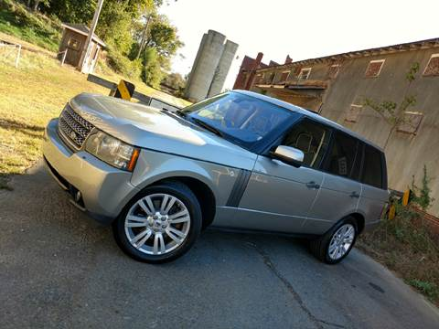 2010 Land Rover Range Rover for sale in Albemarle, NC