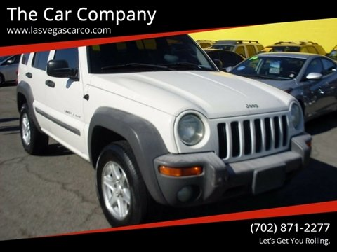 2002 Jeep Liberty for sale in Las Vegas, NV