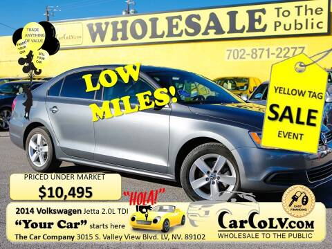 2014 Volkswagen Jetta for sale at The Car Company in Las Vegas NV