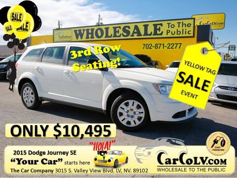 2015 Dodge Journey for sale at The Car Company in Las Vegas NV