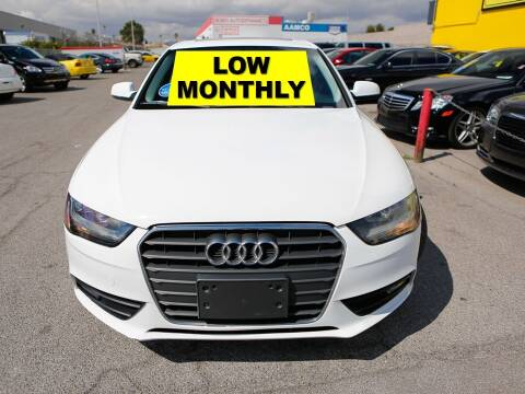 2014 Audi A4 for sale at The Car Company in Las Vegas NV