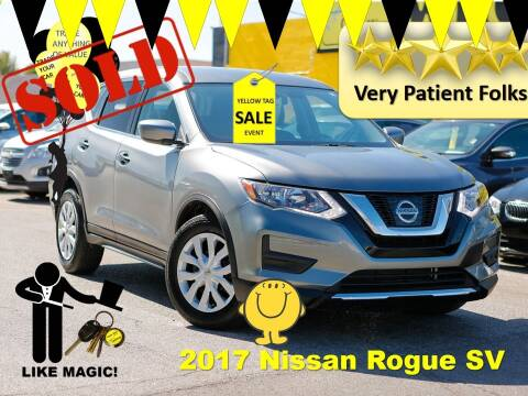 2017 Nissan Rogue for sale at The Car Company in Las Vegas NV