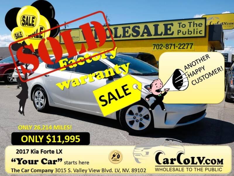 2017 Kia Forte for sale at The Car Company in Las Vegas NV