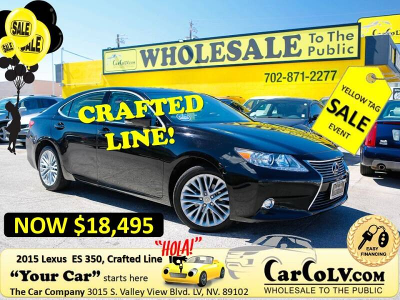 2015 Lexus ES 350 for sale at The Car Company in Las Vegas NV