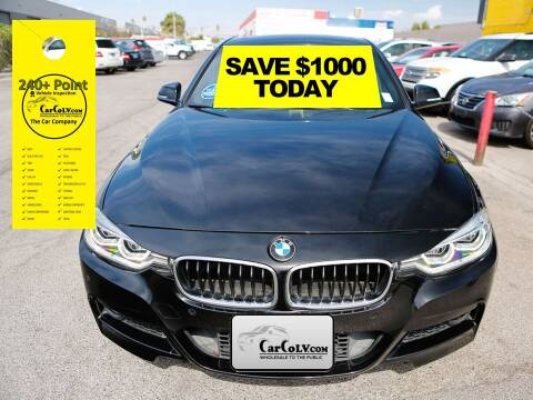 2016 BMW 3 Series for sale at The Car Company in Las Vegas NV