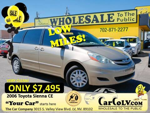 2006 Toyota Sienna for sale at The Car Company in Las Vegas NV