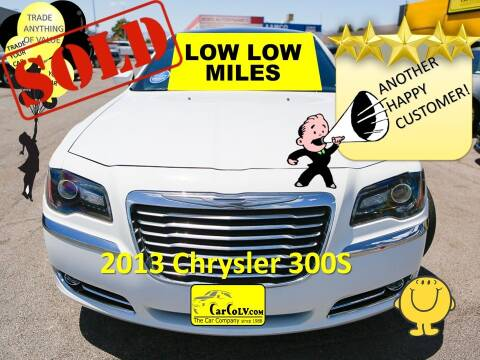 2013 Chrysler 300 for sale at The Car Company in Las Vegas NV