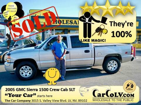2005 GMC Sierra 1500 for sale at The Car Company in Las Vegas NV