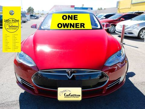 2013 Tesla Model S for sale at The Car Company in Las Vegas NV