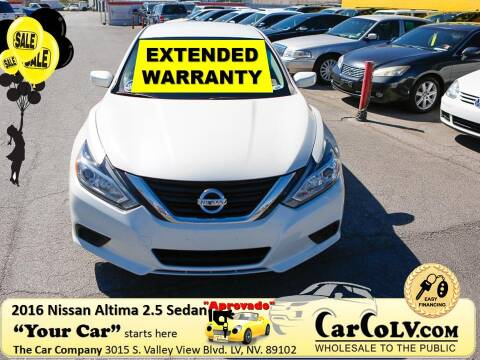 2016 Nissan Altima for sale at The Car Company in Las Vegas NV