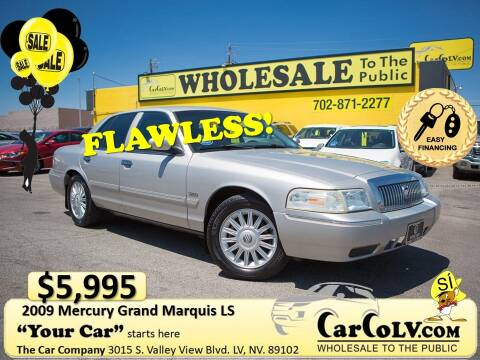 2009 Mercury Grand Marquis for sale at The Car Company in Las Vegas NV