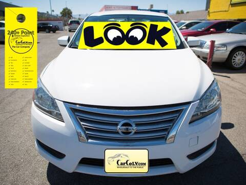 2015 Nissan Sentra for sale at The Car Company in Las Vegas NV