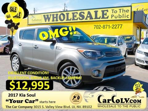 2017 Kia Soul for sale at The Car Company in Las Vegas NV