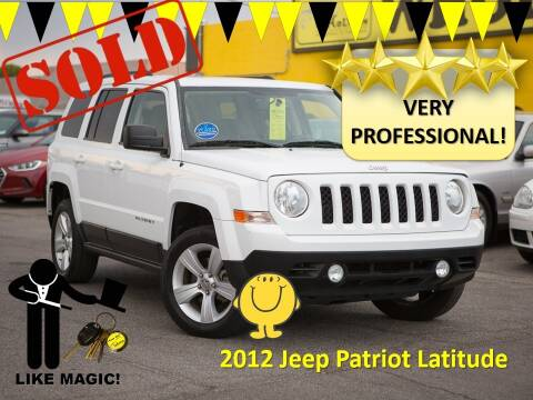2012 Jeep Patriot for sale at The Car Company in Las Vegas NV