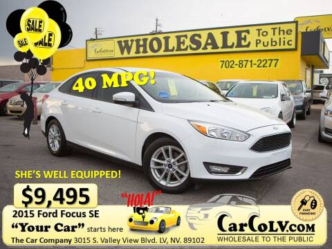 2015 Ford Focus for sale at The Car Company in Las Vegas NV