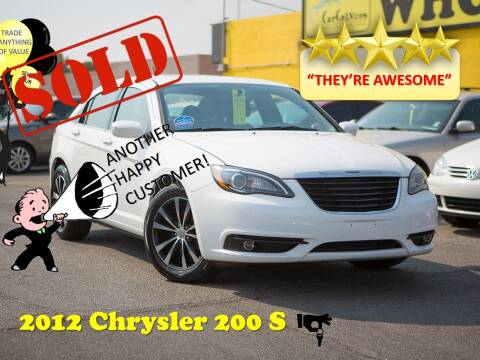 2012 Chrysler 200 for sale at The Car Company in Las Vegas NV