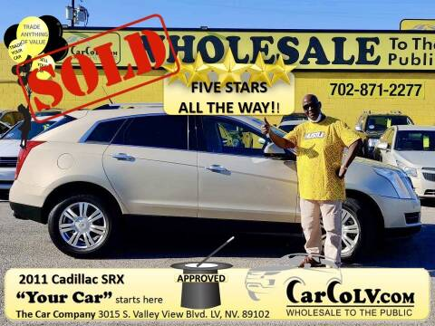 2011 Cadillac SRX for sale at The Car Company in Las Vegas NV