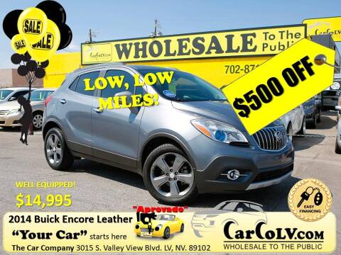 2014 Buick Encore for sale at The Car Company in Las Vegas NV