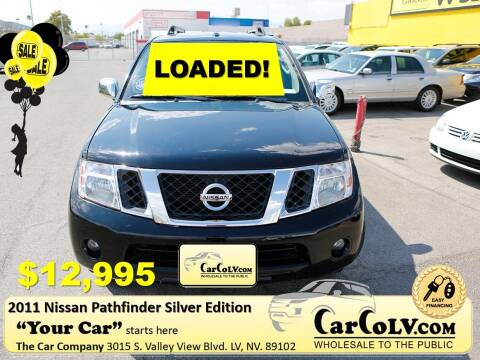 2011 Nissan Pathfinder for sale at The Car Company in Las Vegas NV